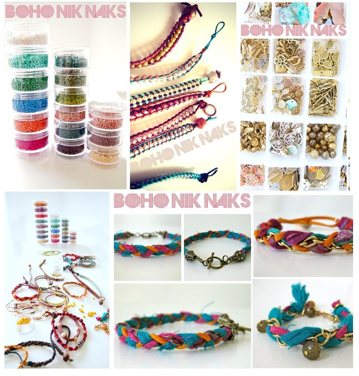 If you have time check out my friend Niki's Bracelets! She finally has her new site up! They are super cute, handmade and very affordable! She even does customized ones to match your personal style!:) http://www.bohoniknaks.com