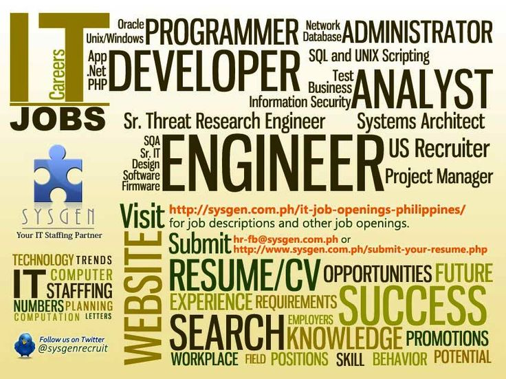 19 best Posters images on Pinterest Job opening, Posters and Poster - network engineer job description