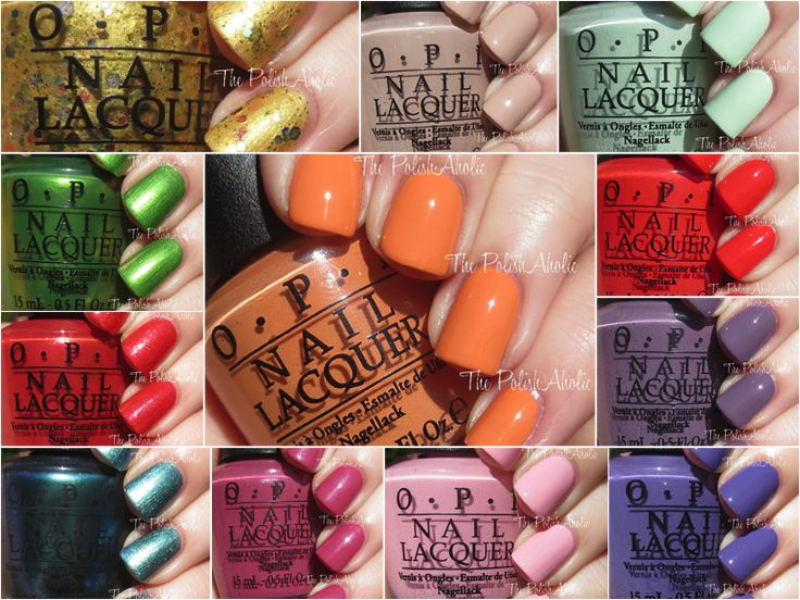 OPI Spring 2015 Hawaii Collection Swatches & Review (The PolishAholic)
