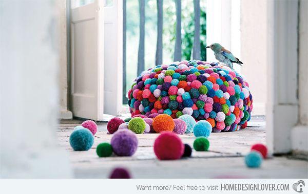 15 Amusing Poufs for Kids