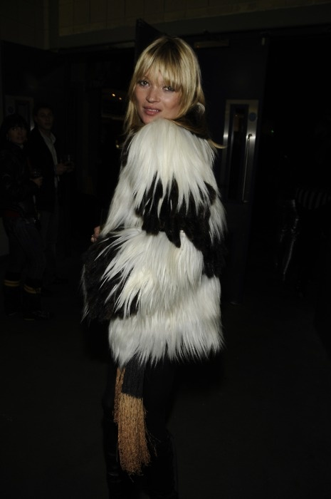 Kate Moss at the Led Zeppelin tribute, December Oct. 2007