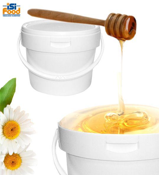 MU3500  La consapevolezza della grande importanza che hanno il buon confezionamento ed il corretto stoccaggio del miele nel processo industriale, prima di arrivare al confezionamento destinato al cliente finale, ha portato ISI FOOD SRL a studiare a proporre un contenitore ideale per questa fase del processo...