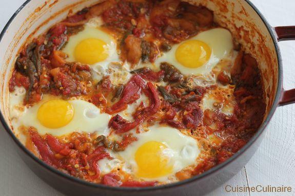 Frita aux oeufs (recette pied noir) - La Cuisine Culinaire