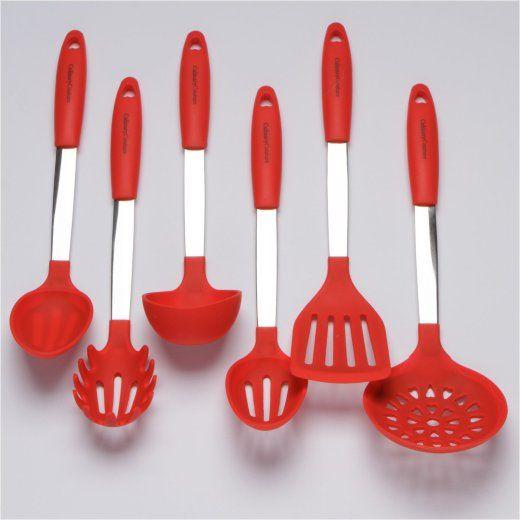 Red Kitchen Utensil Set – Color your kitchen | Kitchen ...