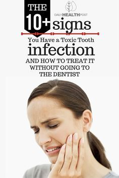 A tooth infection�can be caused by gingivitis, tooth trauma, tooth decay, poor dental hygiene, and a diet high in sugar. If left untreated, the infection can move into the mandible and enter the bloodstream to spread to other parts of the body.