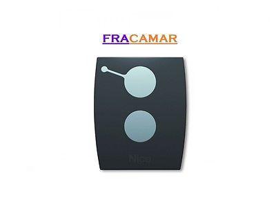 NICE RADIOCOMANDO TELECOMANDO ONE 2 TASTI 433 ROLLING CODE COD. 6900911 ORIGINAL