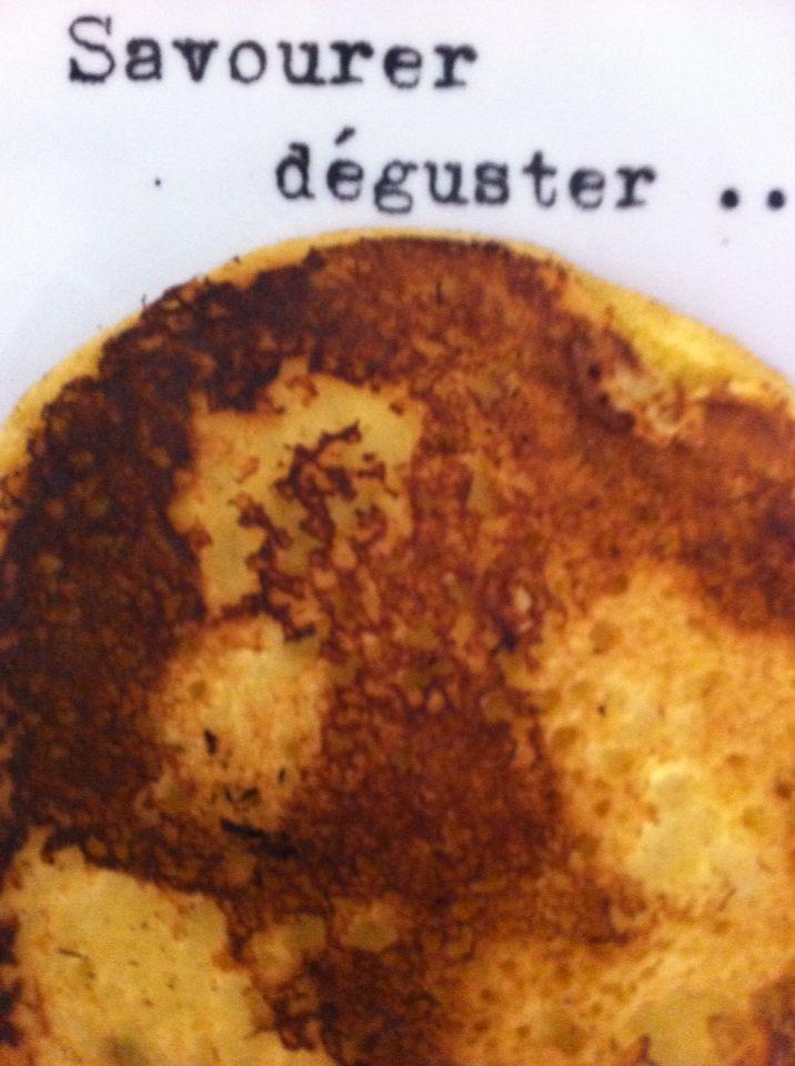 Pancakes à la farine de maïs  No gluten