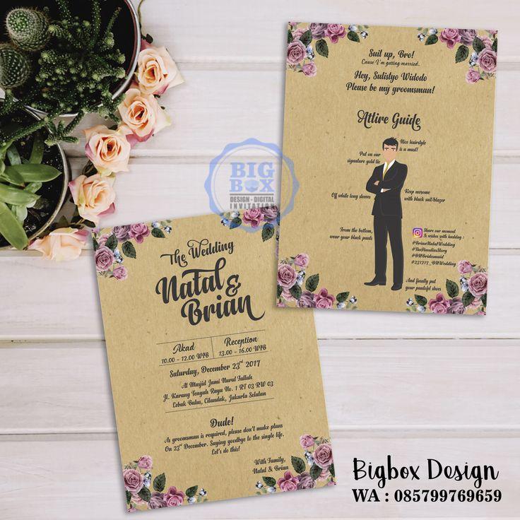Groomsman card for Natal & Brian wedding. Thank you @knianatalya25 😊 (bolak balik) . . . Whatsapp/Line 085799769659 . . . #bridesmaid #groomsman #bridesmaidcard#bridesmaidcardsemarang #groomsmancard #kartubridesmaid #kartugroomsman #attireguide #attireguidecard #undanganunik #undangan #undangansosmed #digitalinvitation #bigboxdesign #undanganelektronik #undanganpernikahan #weddinginvitation #einvitation #likeforlike#undangansemarang#bridesmaidcardbigbox
