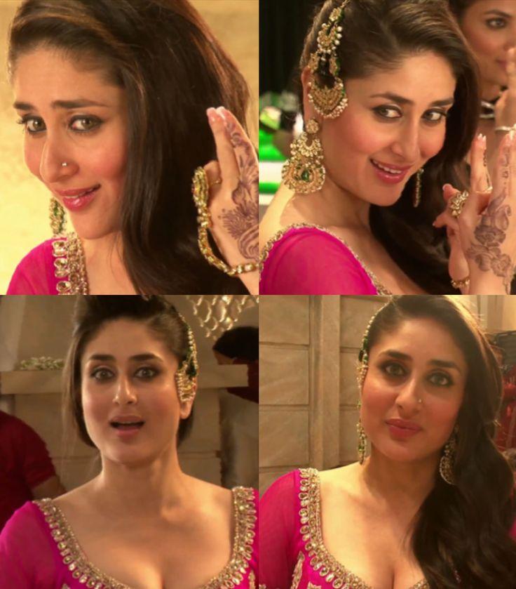Kareena Kapoor for Making Dil Mera Muft Ka song from Agent Vinod