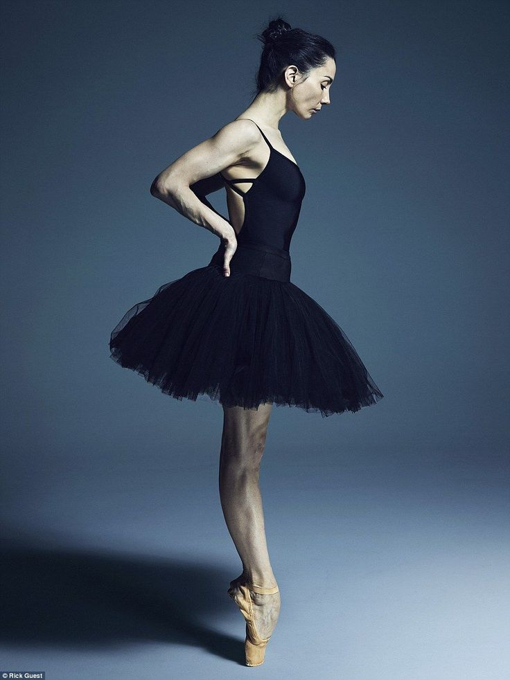 Tamara Rojo, pictured, is artistic director of the English National Ballet. She was one of dozens of ballet dancers photographed in Rick Guest's studio for his book and exhibition, What Lies Beneath