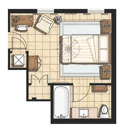 Master Bedroom Interior Plan Rendering Floor Plan Pinterest Master Bedr