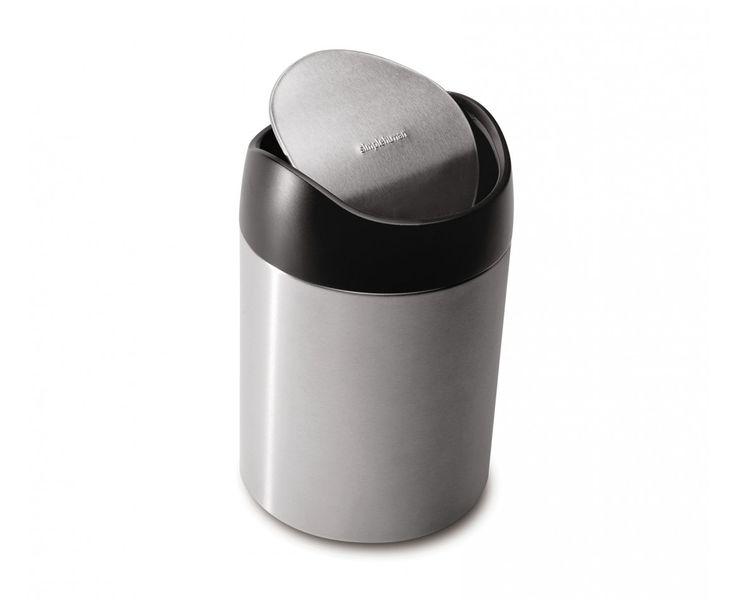 Bathroom Trash Can With Lid