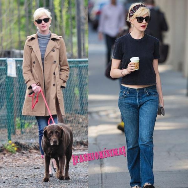 Anne Hathaway sigue rubia por Nueva York (¡cuidado Cate Blanchett!)