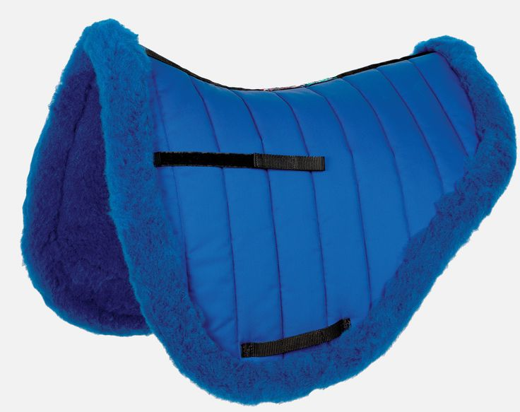 New for 2014 in blue quilt and wool. HiWither Endurance Pad (SP14)