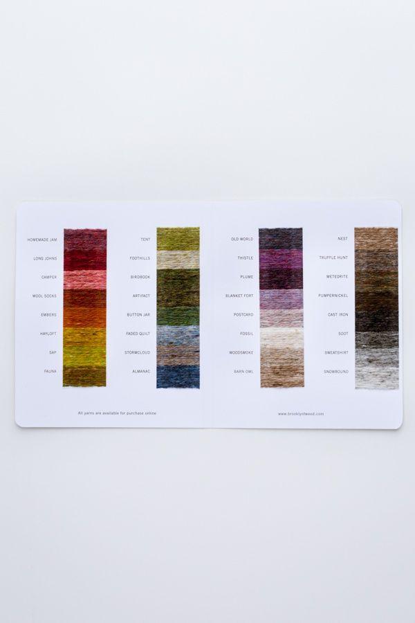 Brooklyn Tweed Shade Card