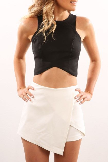 Palm Cove Skort White
