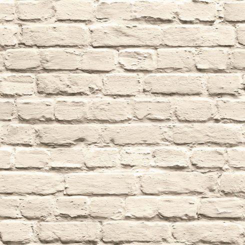 Muriva Just Like It Painted Brick Stone Wall Vinyl Wallpaper J66507
