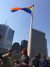 Canada supports the human rights of lesbian, gay, bisexual, transgender, and intersex (LGBTI)! The rainbow flag was raised yesterday at Toronto City Hall to mark #IDAHOT (the international day against homophobia, transphobia and biosphobia. Source from: @thetorontostar