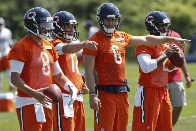 Chicago Bears Training Camp Preview: How will the QB depth chart play out