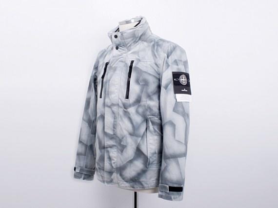 Stone Island – Painted Camouflage Jacket
