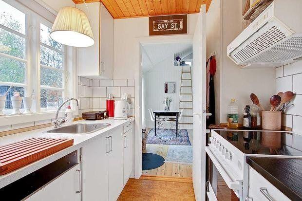 Фотография: Кухня и столовая в стиле Скандинавский, Дача, Дом и дача – фото на InMyRoom.ru