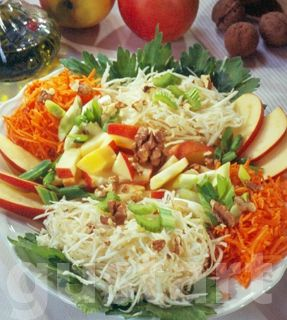 Lajos Mari konyhája - Zeller-sárgarépa- alma saláta