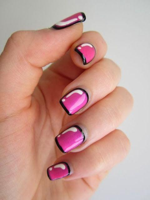 Luna Dsign: Naglar i alla former och färger
