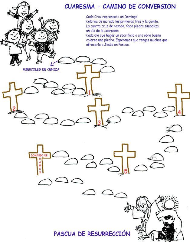 Camino hacia la Pascua: Caminos de Cuaresma 2014 para niños