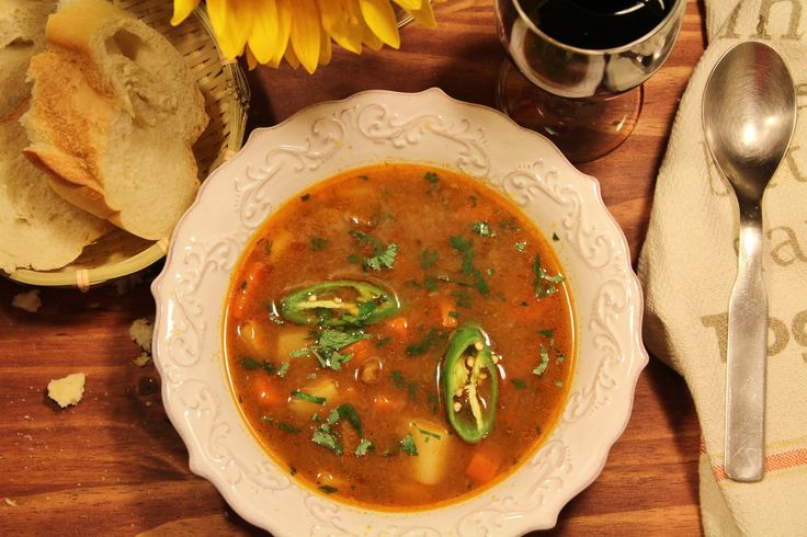 Traditional Hungarian Goulash Soup (Gulyásleves)