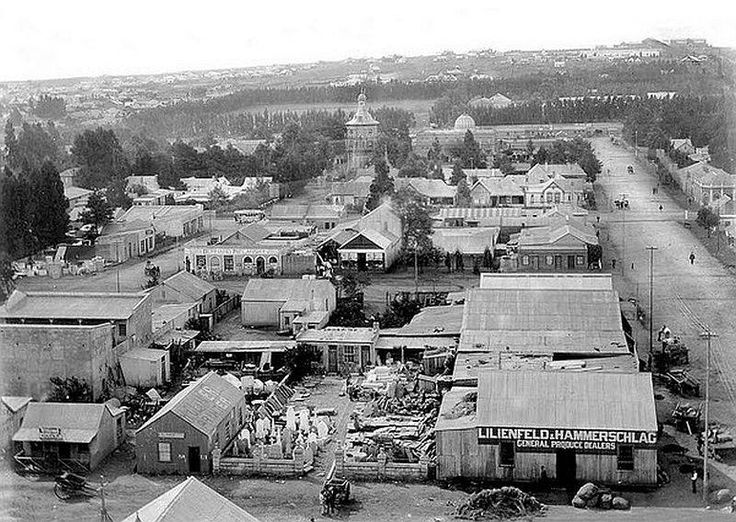 Another view of Johannesburg taken around the end of 1899.