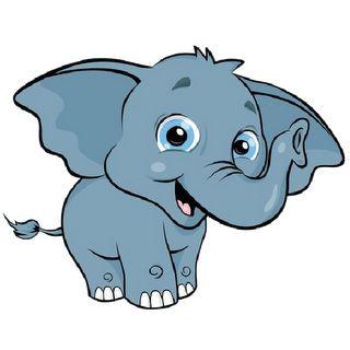Baby elephant clipart kid 2
