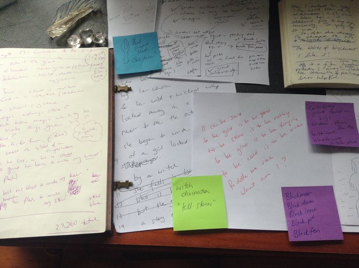 How to build a story out of scraps of ideas. Every aspiring writer should read this
