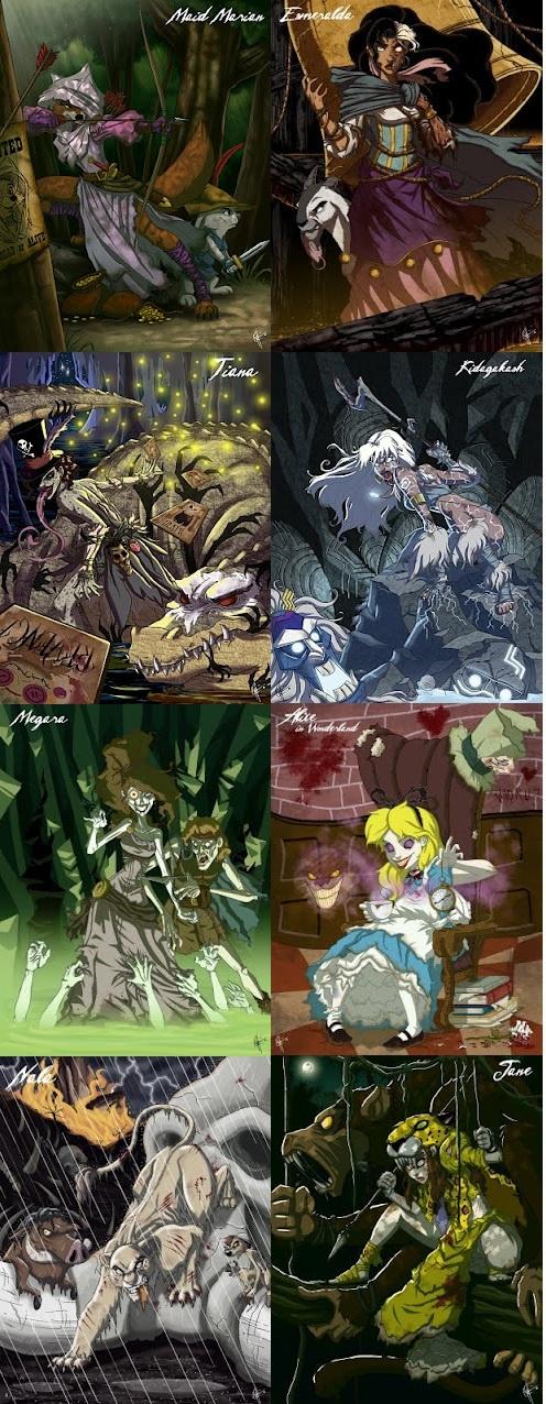 more zombie princesses