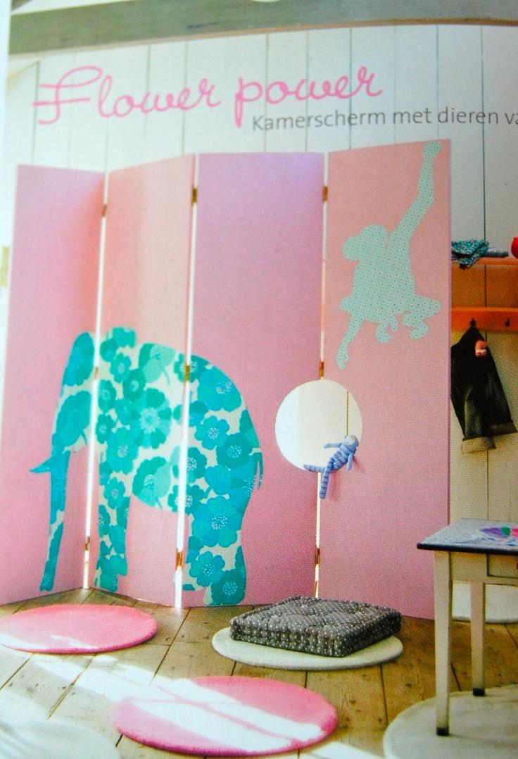 Room divider from ariadne at home de kinderkamer diy pinterest home room dividers and - Kinderkamer arrangement ...