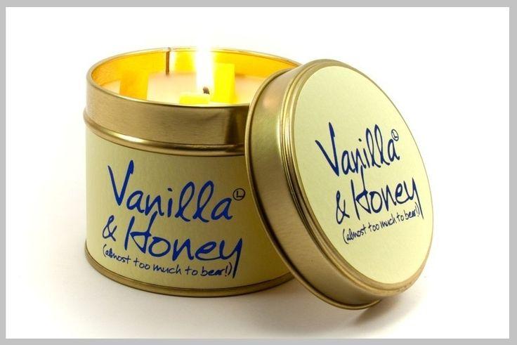 Geurkaarsen - Scented candles - Vanilla & Honey