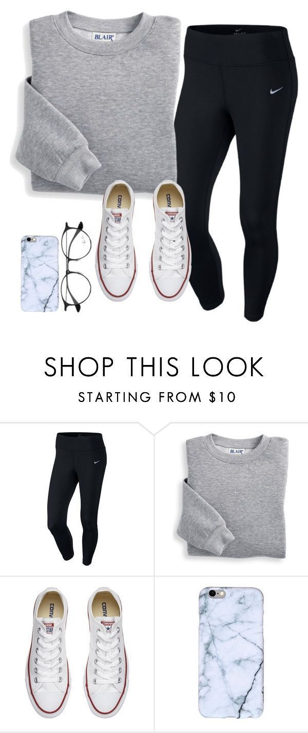 super comfortable for a snowy day from maddieharris01 on Polyvore with NIKE, Blair, …