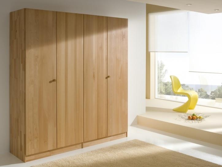 Fresh Massivholz Kleiderschrank modern solid wood wardrobe