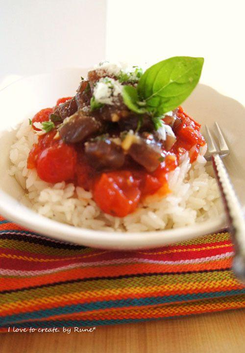 マグロ漬けをリメイク! タルタル風 マグロ漬け トマトソースのイタリアン飯 レシピ