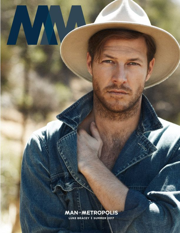The face of Ralph Lauren POLO RED fragrance and Hacksaw Ridge star Luke Bracey covers our Summer 2017 Adventure Issue