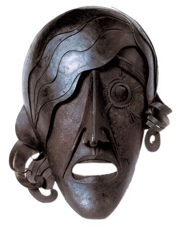 La tragedia, 1915-20. Obra de Pablo Gargallo