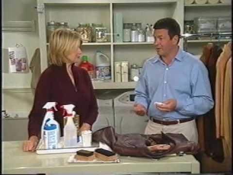 Suede and Leather Care with Martha Stewart.  I found the tips on cleaning suede toward the latter half of the video particularly helpful.