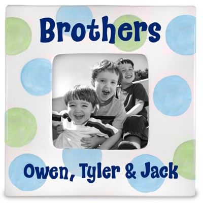 brothers personalized picture frame