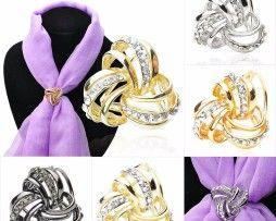 Prsteň na šatku - Keltský uzol - ružové zlato