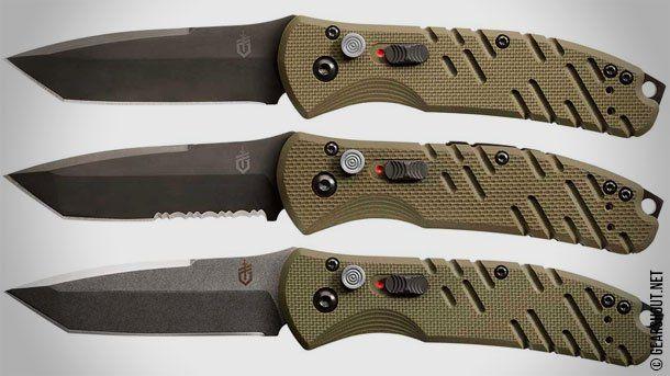 Gerber Gear дополнила линейку складных автоматических ножей серией Propel Auto OD Green