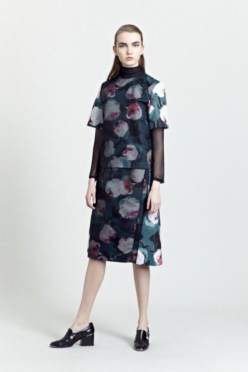Siloa & Mook AW13: Edel Top, Oile Skirt.  #siloamook #fashionflashfinland #fashion #fashiondesigner #designer #aw13 #collection #Finland #Helsinki