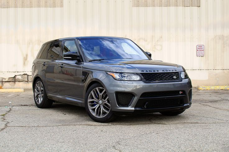 In normal mode, the 2016 Range Rover Sport SVR behaves