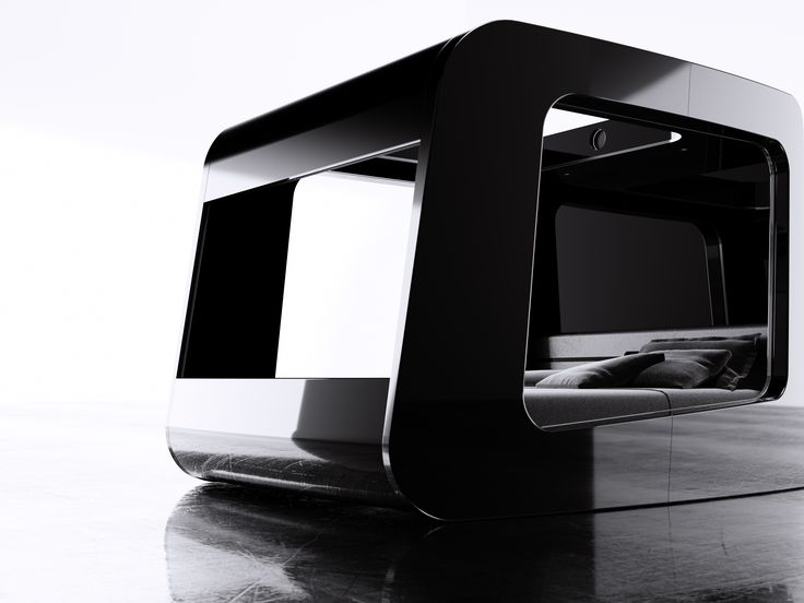 HiCan: a futuristic cocoon that lets you relax and enjoy life, on your own terms, within a design masterpiece reinventing the bedroom experience by blending the best Italian design with state-of-the-art technology  www.hi-can.com/