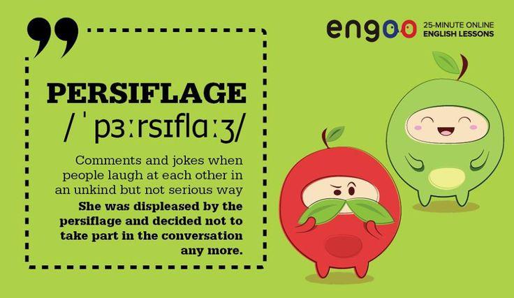 Слово дня - persiflage (лёгкая шутка).