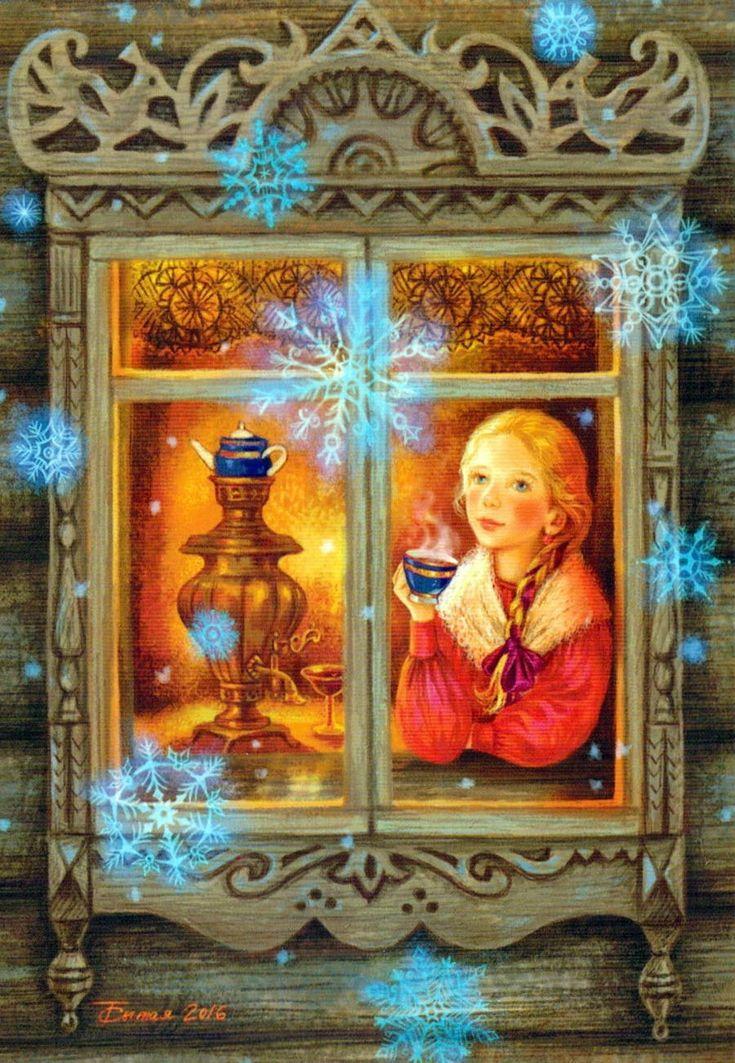 Петра днем, серия открыток русские окна