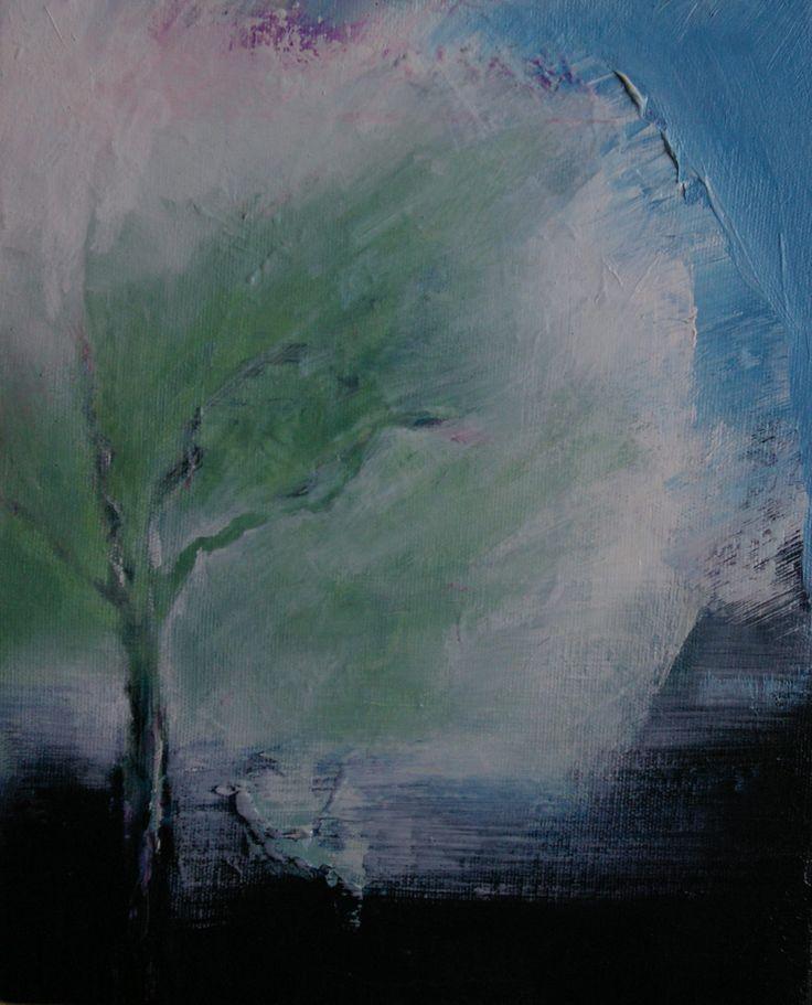 O'Leary, Caitriona - Memories of a walk 2 ; Plum Tree